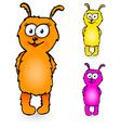 Cartoon personage vector image