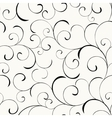 Background with swirls vector image