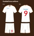 Football-T-shirt vector image