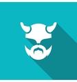 Viking icon vector image