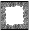 Frame drawing vector image vector image