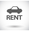 Car for rent vector image