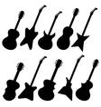 Guitars vector image