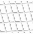white empty rectangles vertical orientation app vector image