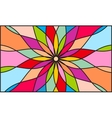 Kaleidoscope color background vector image