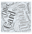 So Many Credit Card Offers What To Do Word Cloud vector image