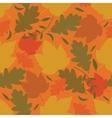 Seamless autmn background vector image