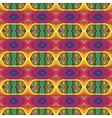70s psychedelic pattern with stripes vector image