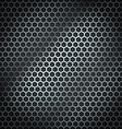 Metal cell background vector image