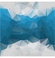 blue-gray background polygonal vector image
