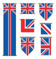 united kingdom banners vector image