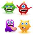 monster collection vector image