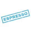 Espresso Rubber Stamp vector image