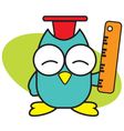 Clever Owl vector image