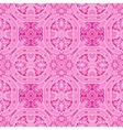 cute pink floral ornament background vector image vector image