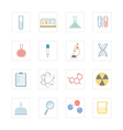 icon science equipment vector image