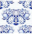 Seamless pattern imitation of painting on vector image