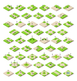 Game Set 14 Building Isometric vector image