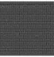 Dark seamless brick wall vector image