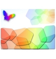 vector abstract color background vector image