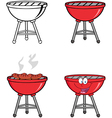 Barbecues Collection vector image vector image