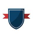 shield badge icon vector image