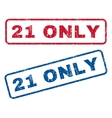 21 Only Rubber Stamps vector image