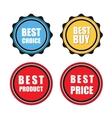 Best sign vector image vector image