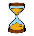 hourglass icon icon cartoon vector image