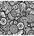 paisley seamless pattern vector image