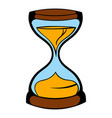 hourglass icon icon cartoon vector image