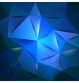 triangles blue vector image