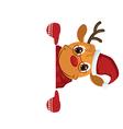 Deer character vector image