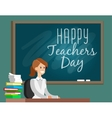 Teachers daySchool doodles Supplies Sketchy vector image