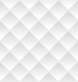 White geometric seamless background vector image