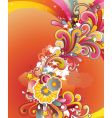 colored background vector image vector image
