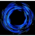 Blue light effects EPS 10 vector image