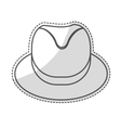 hat accessory icon vector image