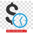 Dollar Credit Eps Icon vector image