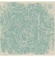 worn old paper vintage card vector image