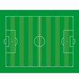 Football field vector image