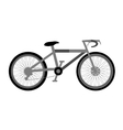 Bike symbol icon on white vector image