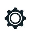 gear cogwheel transmission vector image