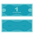 Play money One vector image vector image