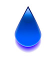 image one drop 3d vector image
