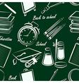 school item seamless2 vector image