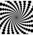 rotating balls vector image vector image
