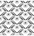 seamless pattern with spider vector image vector image