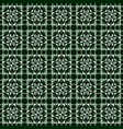 linoleum seamless pattern geometric mosaic vector image