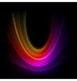 Smooth technology light lines background EPS 8 vector image vector image